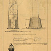 Cast Iron Lighthouses Art Print