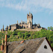Castle At Cochem In Germany Art Print