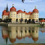 Castle Moritzburg  Art Print