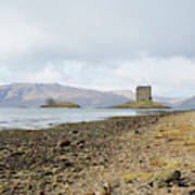 castle Stalker in late autumn Art Print