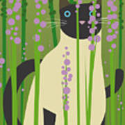 Cat Look 4 Art Print