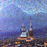 Cathedrale3 Art Print