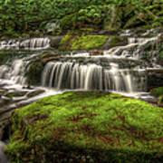 Catskill Waterfall Art Print