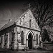 Cedar Hill Chapel Art Print