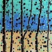 Celebration - Abstract Landscape  Art Print