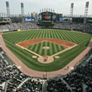 Celeveland Indians V Chicago White Sox Art Print