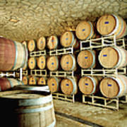 Cellar In Winery Art Print