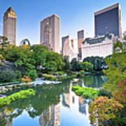 Central Park In New York City Art Print