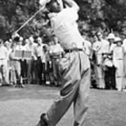 Champion Golfer Ben Hogan Art Print