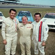 Champion Racers For The Daytona 500 Art Print