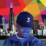 Chance Chicago Art Print