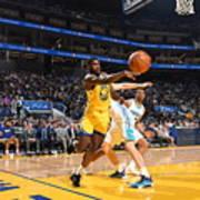 Charlotte Hornets V Golden State Art Print