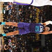 Charlotte Hornets V Los Angeles Lakers Art Print