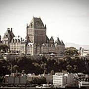 Chateau Frontenac From Levis, Quebec Art Print