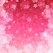 Cherry Plum Greeting Cards Art Print