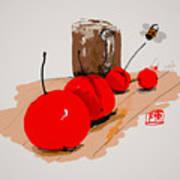 Cherry Time Art Print