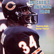Chicago Bears Walter Payton Sports Illustrated Cover Art Print
