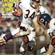 Chicago Bears Walter Payton... Sports Illustrated Cover Art Print