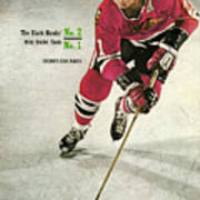 Chicago Blackhawks Stan Mikita... Sports Illustrated Cover Art Print