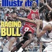 Chicago Bulls Michael Jordan, 1989 Nba Eastern Conference Sports Illustrated Cover Art Print