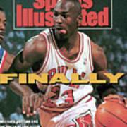 Chicago Bulls Michael Jordan, 1991 Nba Eastern Conference Sports Illustrated Cover Art Print