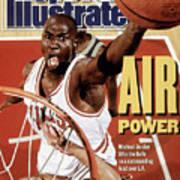 Chicago Bulls Michael Jordan, 1991 Nba Finals Sports Illustrated Cover Art Print