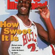 Chicago Bulls Michael Jordan, 1992 Nba Finals Sports Illustrated Cover Art Print