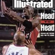 Chicago Bulls Michael Jordan, 1993 Nba Finals Sports Illustrated Cover Art Print
