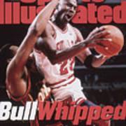 Chicago Bulls Michael Jordan, 1996 Nba Finals Sports Illustrated Cover Art Print