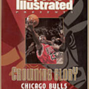 Chicago Bulls Michael Jordan, 1998 Nba Champions Sports Illustrated Cover Art Print