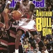 Chicago Bulls Michael Jordan Sports Illustrated Cover Art Print