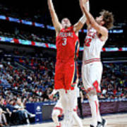 Chicago Bulls V New Orleans Pelicans Art Print