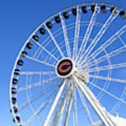 Chicago Centennial Ferris Wheel 2 Art Print