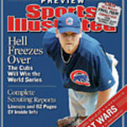 Chicago Cubs Kerry Wood, 2004 Mlb Baseball Preview Issue Sports Illustrated Cover Art Print