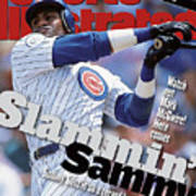 Chicago Cubs Sammy Sosa... Sports Illustrated Cover Art Print