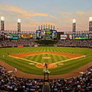 Chicago Cubs V Chicago White Sox Art Print