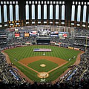 Chicago Cubs V New York Yankees Art Print