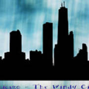 Chicago The Windy City Art Print