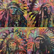 Chiefs Quadrant Art Print