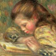 Child Reading, 1890  Art Print