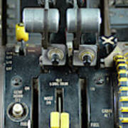 China Southern Md-82 Throttle Art Print