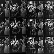 Choereographer George Balanchine Art Print