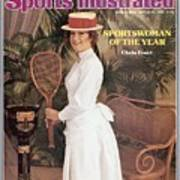 Chris Evert, 1976 Sportswoman Of The Year Sports Illustrated Cover Art Print