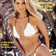 Christie Brinkley Swimsuit 1980 Sports Illustrated Cover Art Print