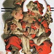Christmas Eve - Digital Remastered Edition Art Print