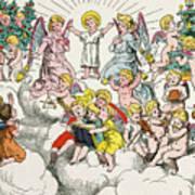 Christmas Fairy Tale Art Print