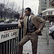 Chuck Berry On Park Lane Art Print