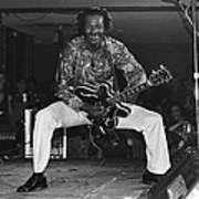 Chuck Berry Performs Live Art Print