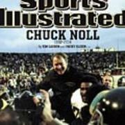 Chuck Noll 1932 - 2014 Sports Illustrated Cover Art Print