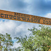Chuckwagon Cookoff Art Print